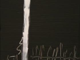 Fence (2008) | Acryl on Canvas  |  60 x 40 cm