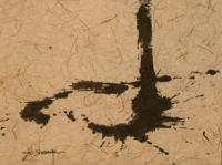 Without Title (1957)   Ink on Paper   98 x 62 cm