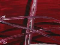 Across on purple (2008) | Acryl on Canvas | 60 x 40 cm