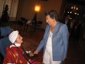 Soshana and KR Mag. Dr. Rudolfine Steindling