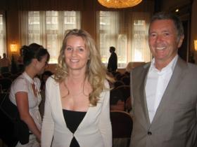 Ms. Regina Bernhard and Mr. Wolfgang Simon