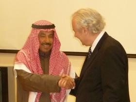 Abdul-Aziz Soud Al-Babtain and Amos Schueller