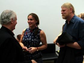 Amos Schueller; Elisabeth; film producer Werner Müller