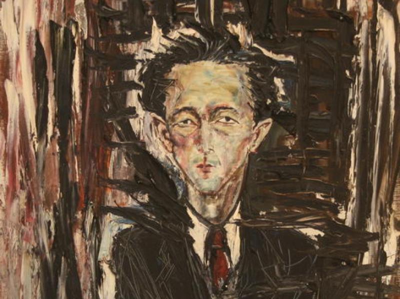 Man (1956)   Oil on Canvas   92 x 74 cm