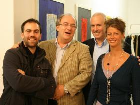 David & Mike Breinin with Hannah Holoch