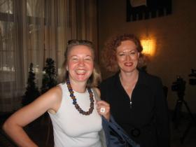 Prof. Martina Pippal and Ms. Susanna Chab