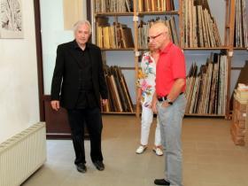 Amos Schueller with Peter Kellner