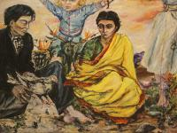 Gipsy Family (1945) | Oil on Canvas | 98 x 163 cm