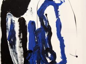 Hungry big Mouth (2012)   Acryl on Canvas   60cm x 80cm