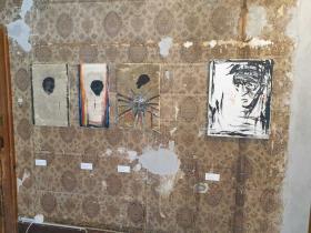 "exhibition space- ""trauma room"""