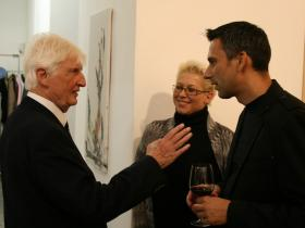 Ambassador Dr. Wolte with Thomas Amminger