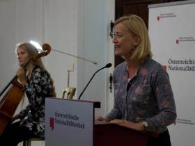 Dr. Johanna Rachinger, Generaldirector of ONB