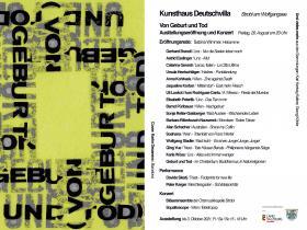 Einladung Kunsthaus Deutschvilla