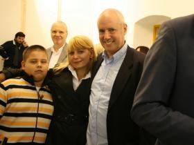 Antonio & Svetla Gatseva with Amos Schueller