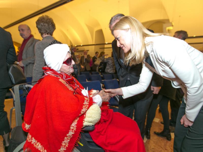 Soshana & Dr. Johanna Rachinger