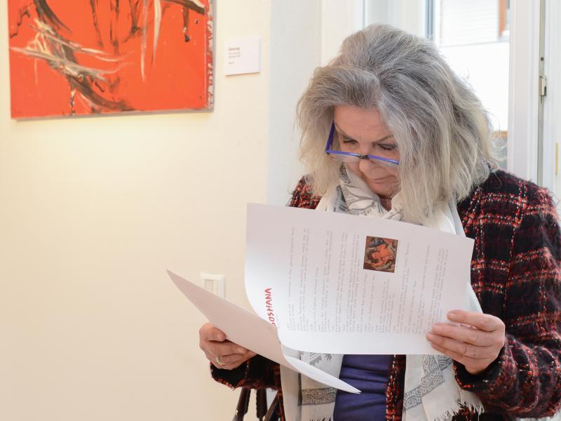 Kunstraum Dr. David, Soshana - 60 Jahre Farbe