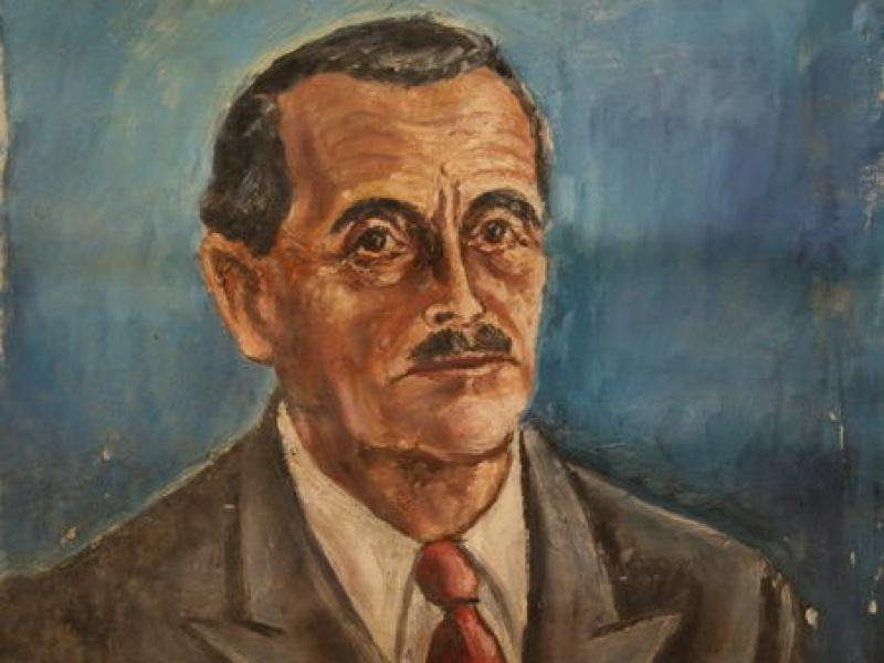 Dr. Viktor Kutten (1944) | Oil on Canvas | 62 x 49 cm