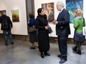 Dr. Edyta Gawron and Amos Schueller