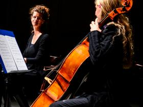"Lection with Music ""Soshana. A Viennese in Paris""- One Month from Soshana's diary will be performed by Hannah Hohloch and Maria Kainz (Cello)"