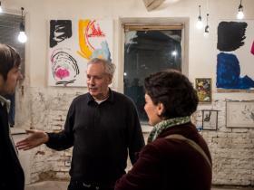 Amos Schueller, Stefan Schmitz & Wife